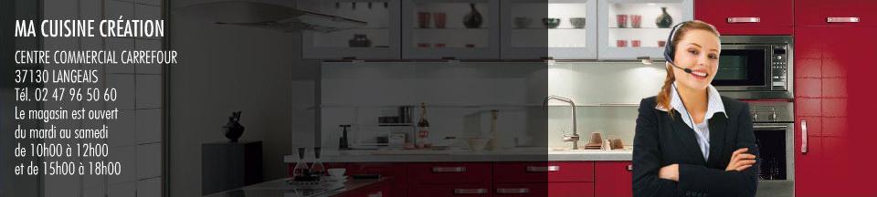 Ma cuisine cr ation nous contacter cuisiniste langeais et azay le rideau indre et loire 37 - Code postal azay le rideau ...